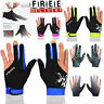 Snooker Pool Billiard Cue Gloves Left Right Hand Three Finger Accessories