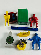 Lot (11) Premium Toy Prize Renwal Marx Air Pump Whistle Knights driver stamp