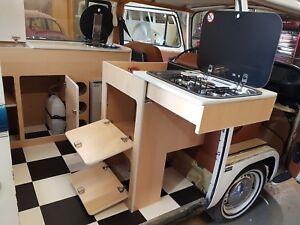 VW  T2 Bay Window - Slide Out Cooker Pod - Day Van Camper