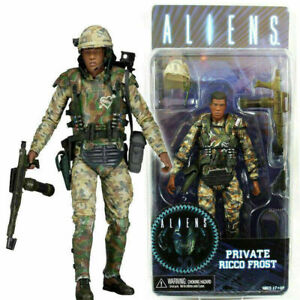 """Aliens Private Ricco Frost Series 9 - 7"""" Action Figure"""