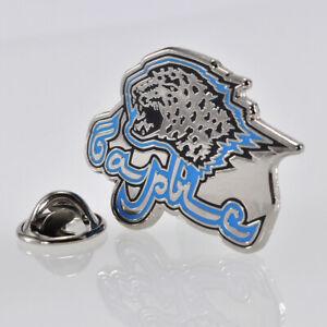 "KHL Barys Astana ""Emblem Silver"" pin, badge, lapel, hockey"