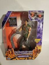 """New listing Terminator Salvation-9"""" Inches Marcus Figure (2009)."""