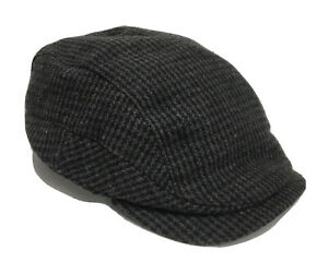 New Joseph Jos A Banks 50% Wool Polyester Cabbie Hat Cap Lined Size Small Medium