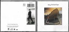 CD 9 TITRES STING THE SOUL CAGES DE 1991 WEST GERMANY