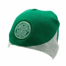 Celtic FC Official Wave Knitted Football Crest Winter Beanie Hat ff70a86f81a