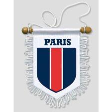 FANION VOITURE PARIS - 13 X 15 CM - BLASON ECUSSON FOOT