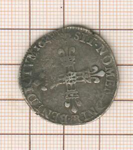 Louis XIII Quart 1/4 d'écu Arras 1642