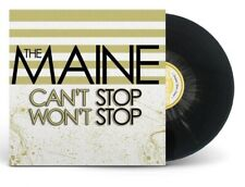THE MAINE Can't Stop Won't Stop (SEALED) GOLD SPLATTER VINYL LP cab.fall out boy