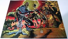 Spawn Vindicator Enemies Halloween Poster Wizard Magazine Vtg 1994 90's x-men