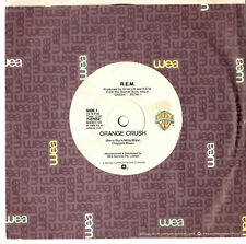 "R.E.M. - ORANGE CRUSH / MEMPHIS TRAIN BLUES - 7""45 VINYL RECORD 1988"