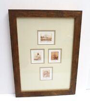 Joel De Tray Group Of 4 Original Miniature Etchings Signed/Numbered Washington