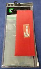 Cutters Football 317 C-Flex Arm Sleeve Red Size Medium/Large