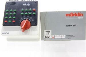 H0 Märklin 6021 Control Unit Zentraleinheit digital Fahrgerät +OVP/J17