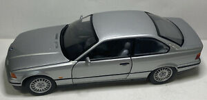 1:18 1:18 UT models BMW 3-series Coupe 1992 Silver