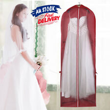 Bridal Gown Wedding Dress Bag Protector Dustproof Cover Garment Storage Foldable
