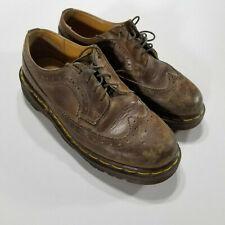 Dr MARTENS 3989 MARRON CLAIR récolte en cuir marron pointure UK 8 9 10 Unisexe