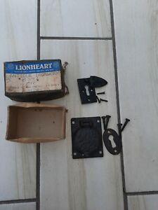 Lionheart Antique Ironwork Lock Door Gate Furniture