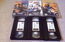 VAN DAMME TRILOGY UK VHS SET UNCUT 2000 Double Impact Maximum Risk Desert Heat