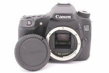 Canon EOS 70D 20.2MP Digital SLR Camera - Black (Body Only) - Shutter Count: 566