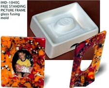 IMD-1040G FREESTANDING PICTURE FRAME - glass fusing mold - NEW