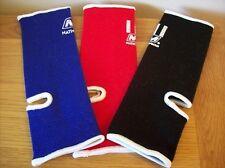 Thai Boxing Ankle Supports Nationman Red Black Blue Tobilleras, Knöchelstutzen