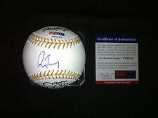 Greg Maddux signed Official Rawlings Gold Glove baseball Braves Cubs HOF PSA/DNA
