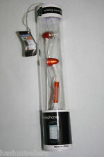 Earbud/Earphone with Mic for iPhone 3G/4, iPod (Orange)