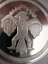 7/8-OZ. WICHITA AMERICAN NATIVE INDIAN TRIBAL NATIONS ART COIN SILVER.999 + GOLD