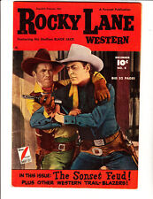 Rocky Lane 8 (1949)- in Fine condition: FREE to combine