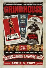Grindhouse movie poster print : 11 x 17 inches : Death Proof & Planet Terror