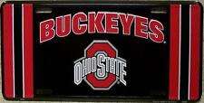 NCAA Aluminum License Plate Ohio State Buckeyes NEW