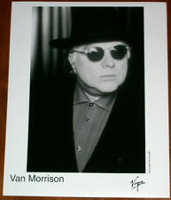 Van Morrison 8x10 B&W Press Photo Virgin Records 1999