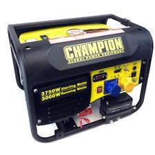 Generador portátil de gasolina campeón CPG4000E1 3.75kVA con arranque eléctrico