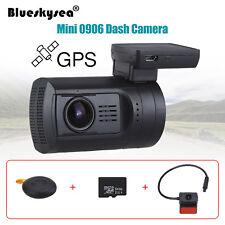 "1.5"" Display Dual HD 1080P Lens GPS Car Dash Camera Video Recorder DVR Crash Cam"