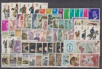 AÑO 1977 COMPLETO NUEVO SIN FIJASELLOS MNH ESPAÑA - EDIFIL (2381-2450) SPAIN
