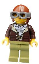 Lego Ausbrecher Gangster Dieb Berg Polizei Mann Minifigur (cty0879) City Neu
