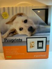 Pearhead Dog or Cat Paw Print Pet Keepsake Photo Frame With Clay Imprint Kit