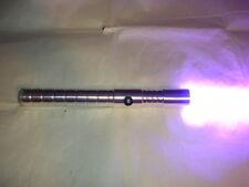 New Ultrasabers Purple Mace Windu style lightsaber fx w/ silver hilt + blade
