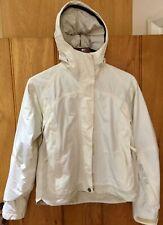 Ladies Ski/Board Jacket, Quicksilver ROXY Gore Tex, Cream, Size 2 / UK8-10 Small