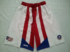 VINTAGE RARE AND1 PUERTO RICO NATIONAL BASKETBALL TEAM  SHORTS IN SIZE M
