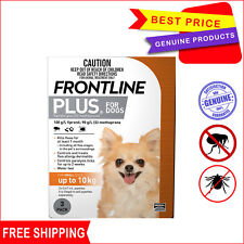 Frontline Plus Orange Pack for Dog Upto 10 Kg 3 Pipettes Flea and Tick treatment