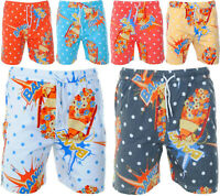 Soul Star Mens Holiday Swim Shorts Casual Novelty Summer Cotton Beach Trunks