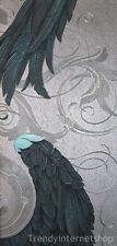 Fleece Wallpaper Marburg Glööckler 52579 Angel Wings blue silver metallic