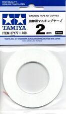 TAMIYA ACCESSORI MASCHERANTE PER CURVE  MASKING TAPE FOR CURVES  2 MM  ART 87177