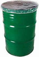 "55 Gallon 4 Mil Drum Cover Dust Caps 30"" 100 Barrel Covers"
