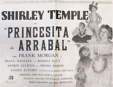 "SHIRLEY TEMPLE in ""Dimples"" - Original Vintage Spanish PRESSBOOK 1936"