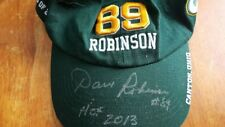 """DAVE ROBINSON HALL OF FAME CAP SIGNED BY """"2013 HALL OF FAMER""""  DAVE ROBINSON"""