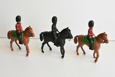 Vintage Charbens Coldstream Horse Mounted Guards Plastic Toy Soldiers 1:32