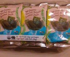 Trader Joe's Organic Roasted Teriyaki Seaweed Snack- 6 Pack