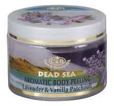 Dead Sea, C&B, Body Peeling Lavender Vanilla Patchouli, Vol.12fl.oz/350ml